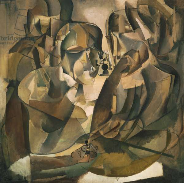 Portrait of Chess Players, 1911 (oil on canvas)