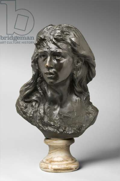 Mignon, modeled c.1867-68, cast by Alexis Rudier (1874-1952) in 1925 (bronze)