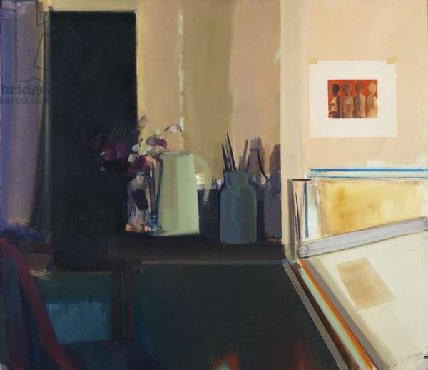 January Still Life, 1967 (oil on canvas)