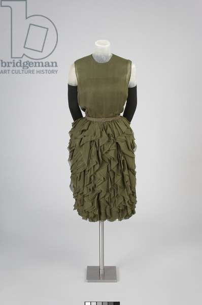 Cocktail Dress, Fall 1959 (silk chiffon)