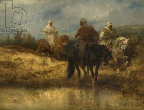 Arab Horsemen, c.1887-90 (oil on canvas)