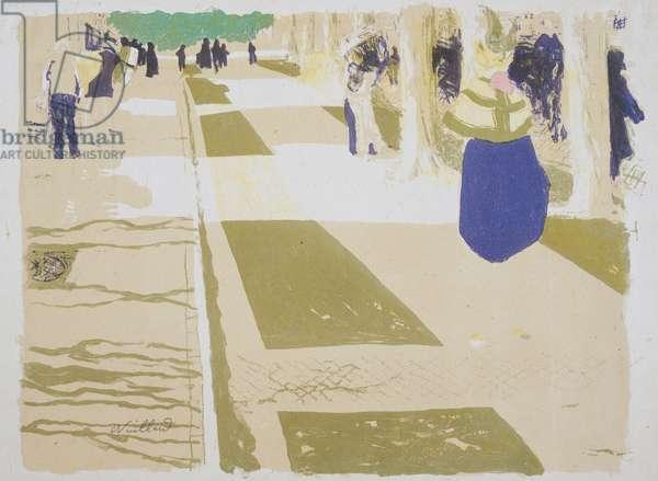 The Avenue, illustration from 'Paysages et Intérieurs' (Landscapes and Interiors)