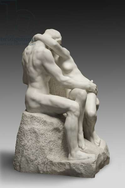 Copy of 'The Kiss', 1929 (marble)