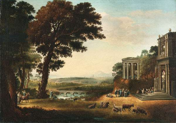Temple of Apollo, 1776 (oil on canvas)