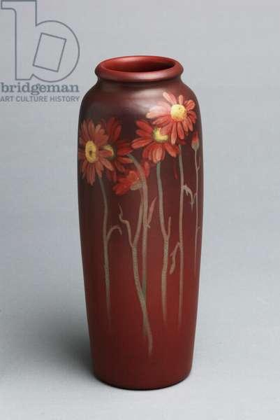 Vase, 1903 (stoneware (Painted Mat glaze line))