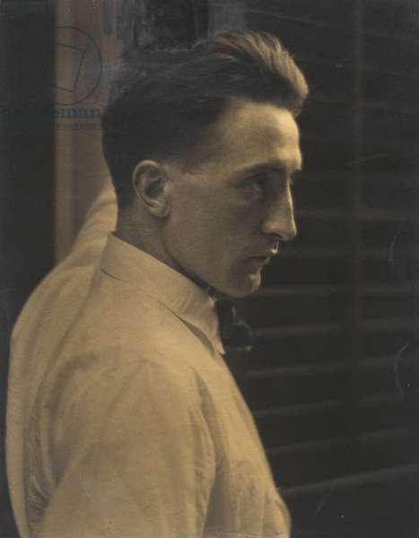 Marcel Duchamp, 1917 (platinum print)