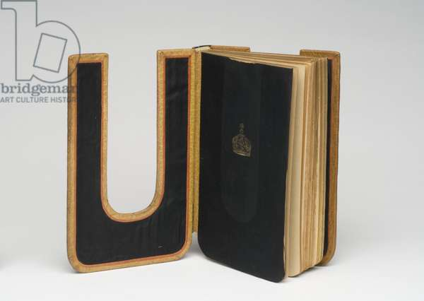 Bookbinding for Ubu Roi, by Alfred Jarry, 1935 (full tan morocco leather)