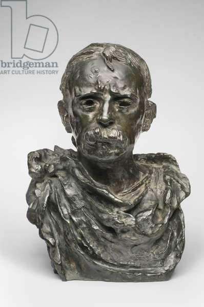 Edward H. Harriman, modeled 1909, cast by Alexis Rudier (1874-1952), 1925 (bronze)