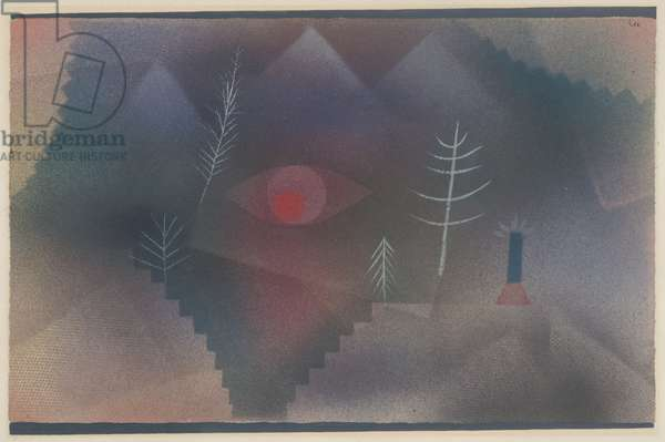 Glance of a Landscape, 1926 (w/c on paper)