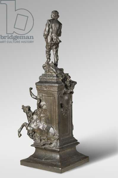 """Project for the """"Monument to Claude Lorrain"""", modeled 1889, cast by Alexis Rudier (1874-1952), 1926 (bronze)"""