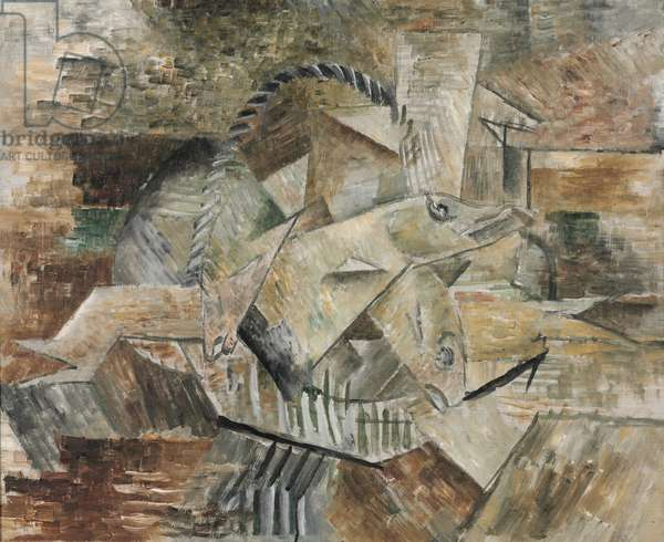 Basket of Fish, c.1910 (oil on canvas)