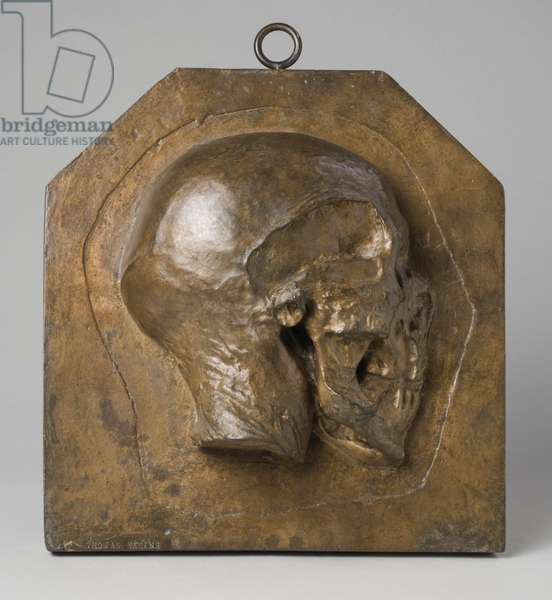 Right Side of Head, 1877-80 (bronze)