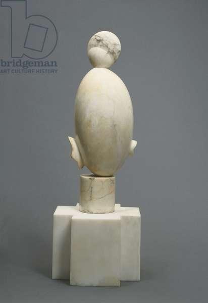 White Negress I, 1923 (veined marble)