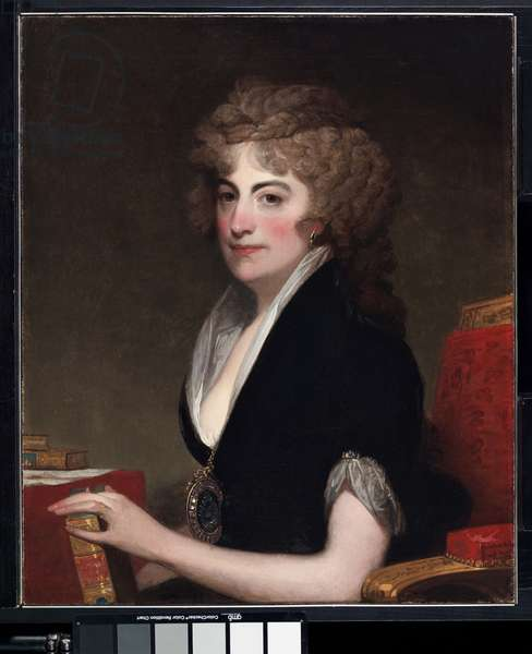 Portrait of Anne Willing Bingham, 1797 (oil on canvas)