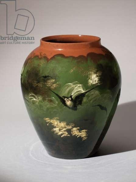 Lamp Base, 1882 (glazed stoneware (limoges glaze line) (see also 451098)