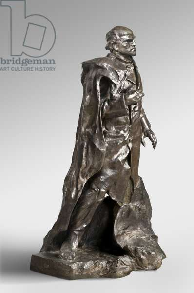 President Sarmiento, modeled 1896-98, cast by Alexis Rudier (1874-1952), 1925 (bronze)