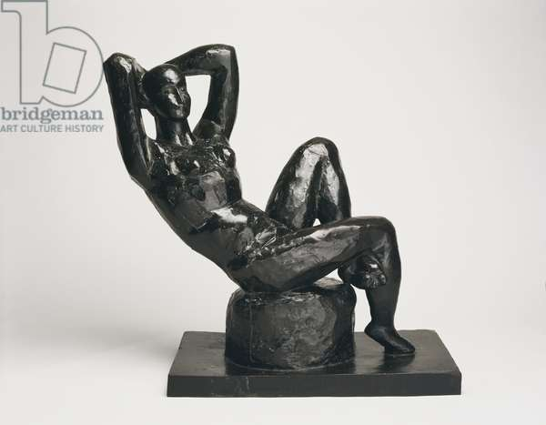 Large Seated Nude, 1922-29 (bronze)