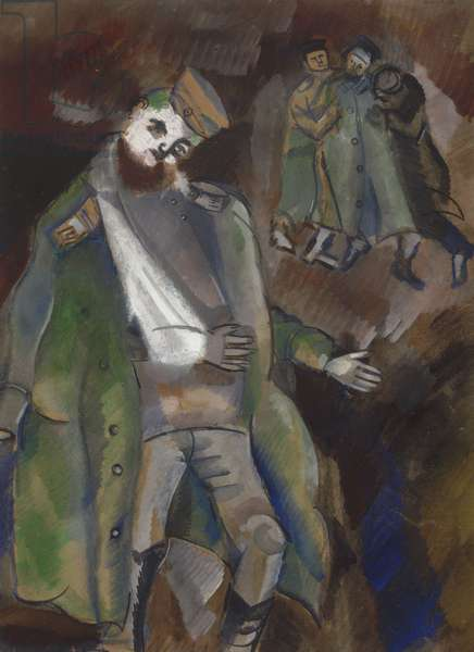 Wounded Soldier, 1914
