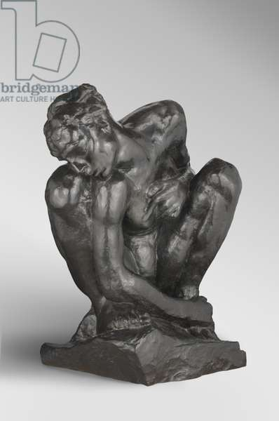 The Crouching Woman, modeled 1881-82, enlarged 1906-8, cast by Alexis Rudier (1874-1952), 1925 (bronze)