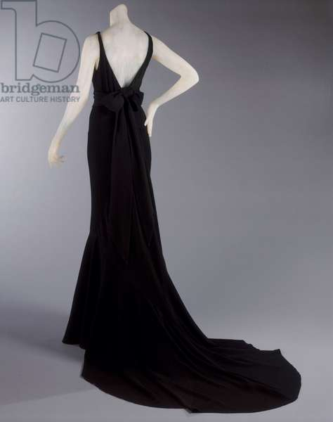 Evening Dress, Winter 1931-32 (riboulding rayon crepe) (see also 450939)
