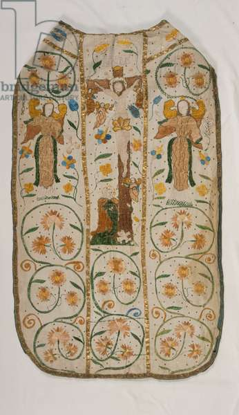 Chasuble (embroidered linen)