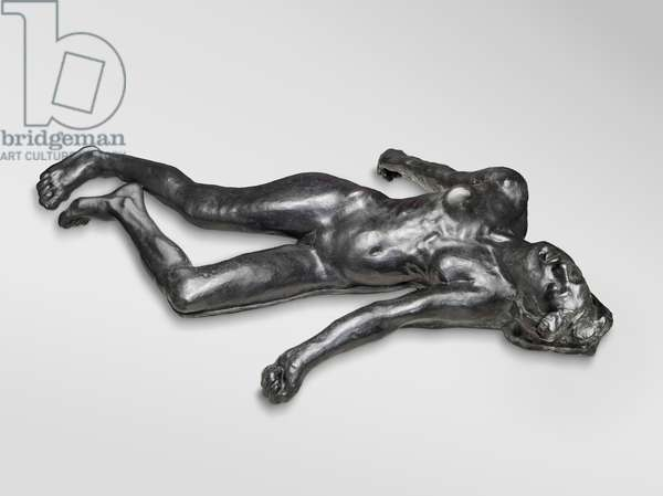 The Martyr, modeled 1885, enlarged 1889, cast by Alexis Rudier (1874-1952), 1925 (bronze)
