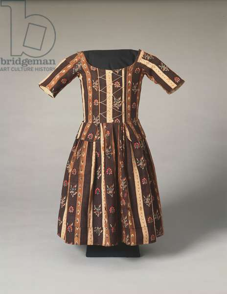 Child's Dress, c.1780 (cotton & linen)
