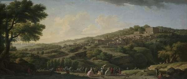 Villa at Caprarola, 1746 (oil on canvas)