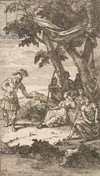 Cassandra, 1725 (etching)