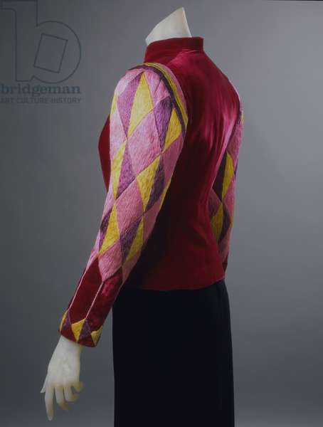 Dinner Jacket, Spring 1939 (velvet with silk thread embroidery)