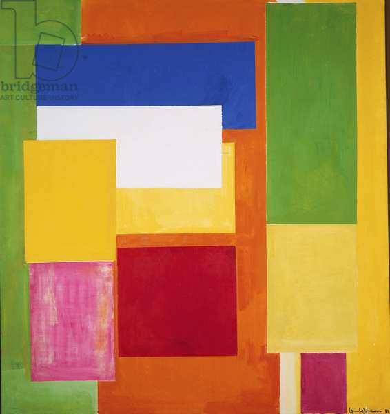 Lumen Naturale, 1962 (oil on canvas)