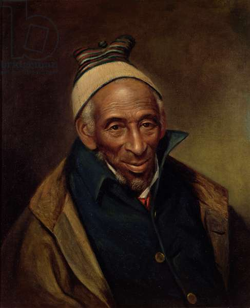 Yarrow Mamout, 1819 (oil on canvas)