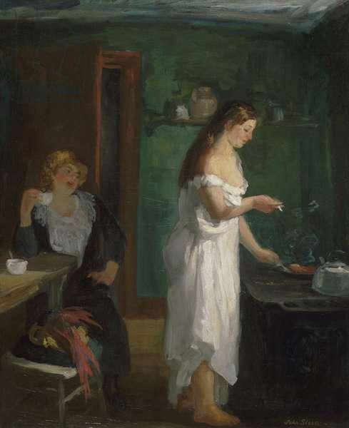 Three A.M., 1909 (oil on canvas)