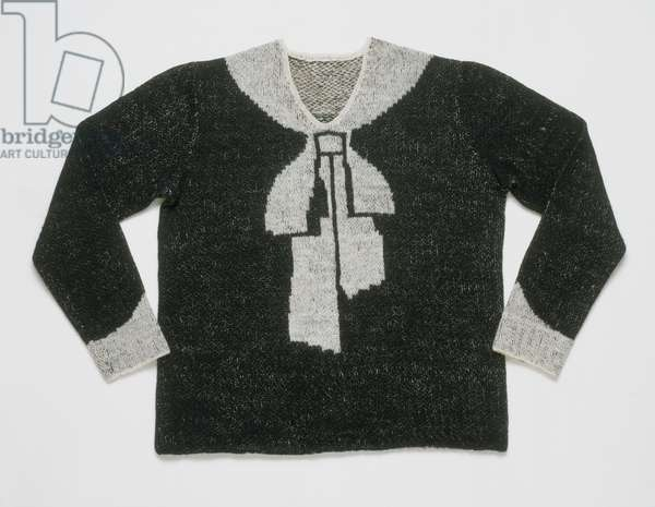 Woman's Sweater, November 1927 (hand-knitted wool)