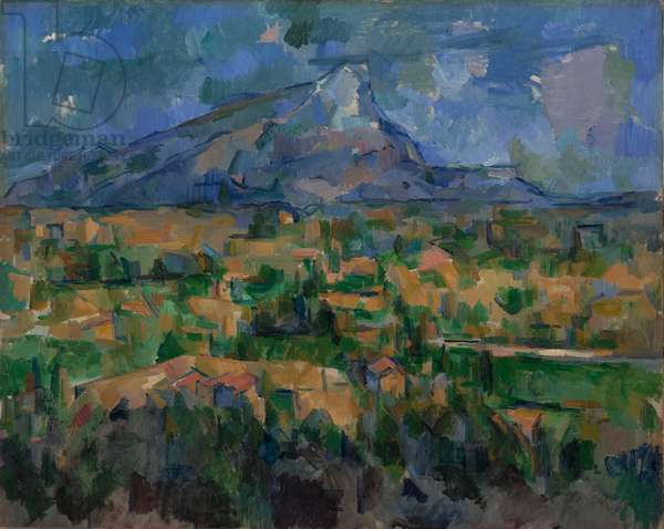 Mont Sainte-Victoire, c.1902 (oil on canvas)