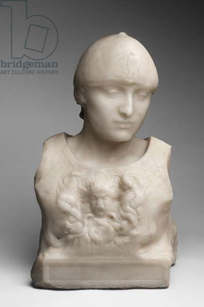 Minerva, modeled c.1898, carved by Camille Raynaud (1868-after 1931), 1901 (marble)