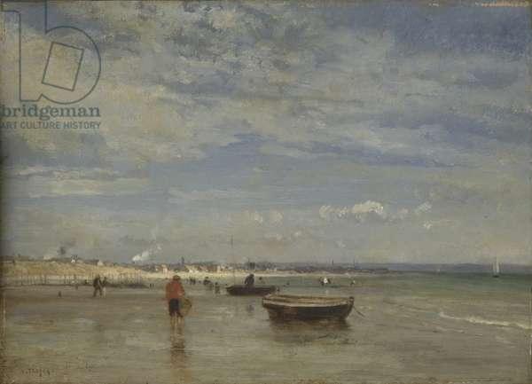 Le Tréport, 1860-62 (oil on panel)