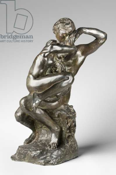 Shame (Absolution), modeled c.1885-90, cast by Alexis Rudier (1874-1952), 1925-26 (bronze) (bronze)