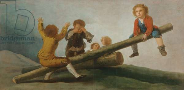 The Seesaw, 1791-92 (oil on canvas)