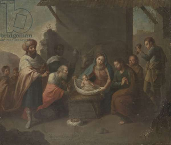 The Adoration of the Magi, c.1800 (oil on canvas)
