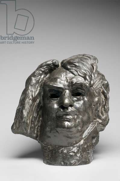Colossal Head of Balzac, modeled 1898, cast by Alexis Rudier (1874-1952), 1925 (bronze)