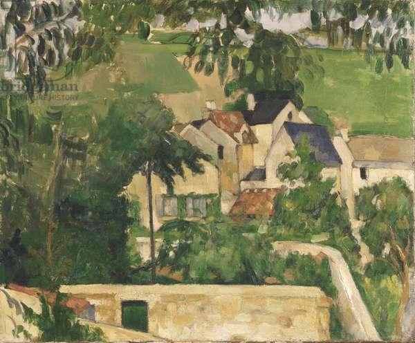 Quartier Four, Auvers-sur-Oise, c.1873 (oil on canvas)