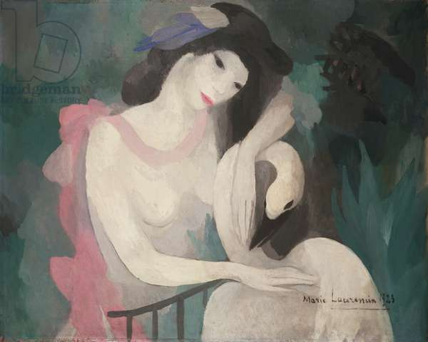 Leda and the Swan, 1923 (oil on canvas)