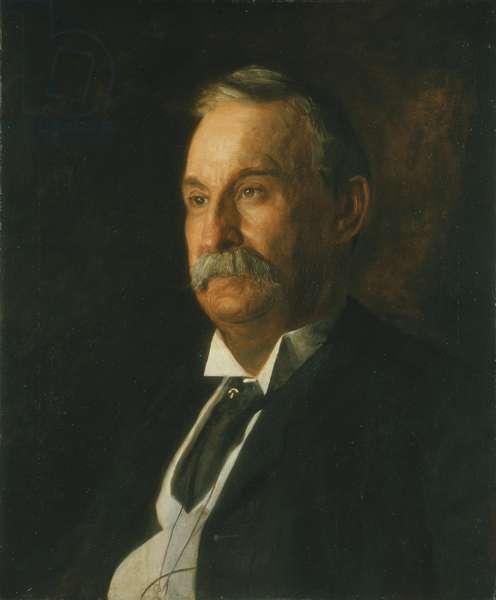 Portrait of Edward Taylor Snow, 1904 (oil on canvas)
