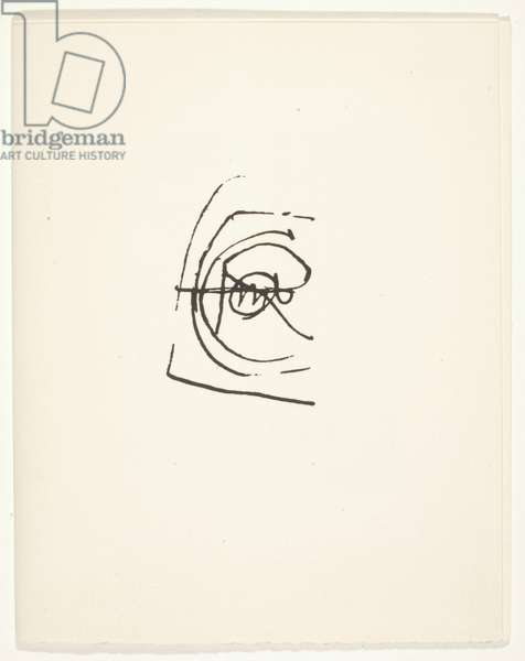 Homage à Duchamp, printed by Pierre Andre Benoit, October 1, 1969 (print)