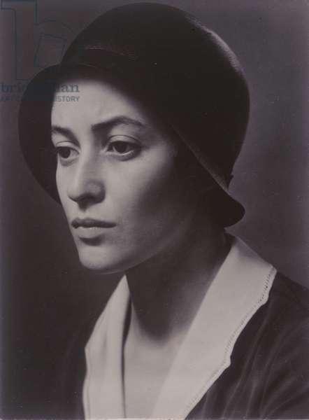 Dorothy Norman IX, 1930 (gelatin silver print)