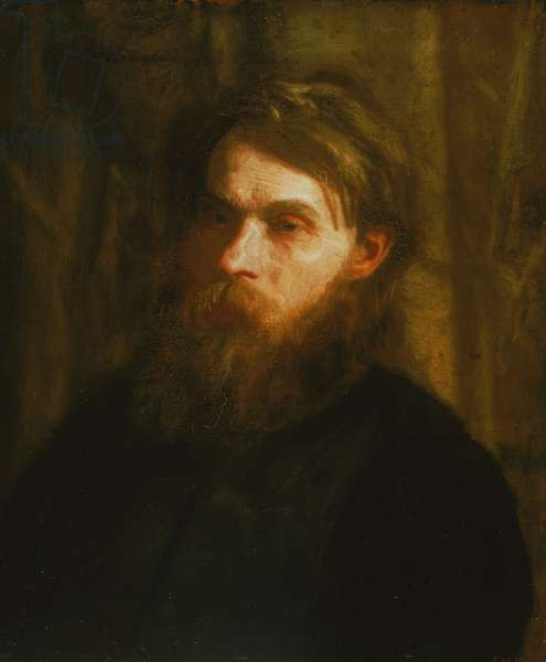 The Bohemian (Portrait of Franklin Louis Schenck) c.1890 (oil on canvas)