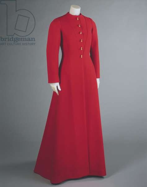 Evening Coat, Winter 1935-36 (wool with gilded metal buttons)
