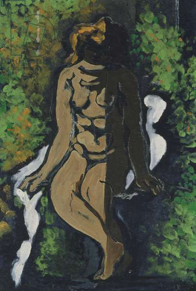 Seated Bather, 1925 (oil on canvas)