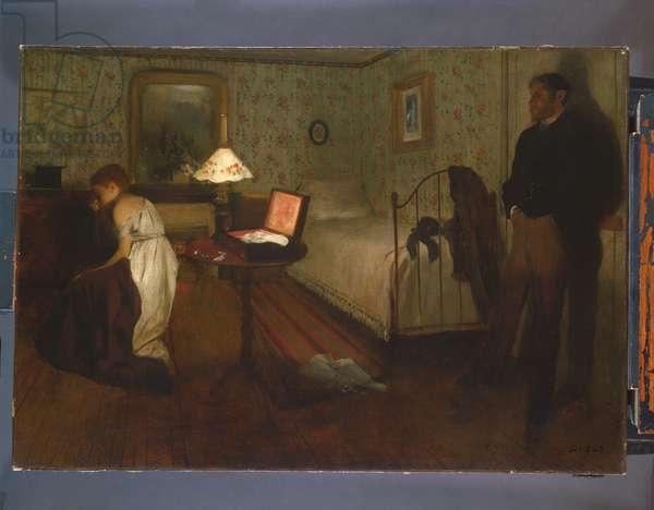 Interior, 1868-69 (oil on canvas)